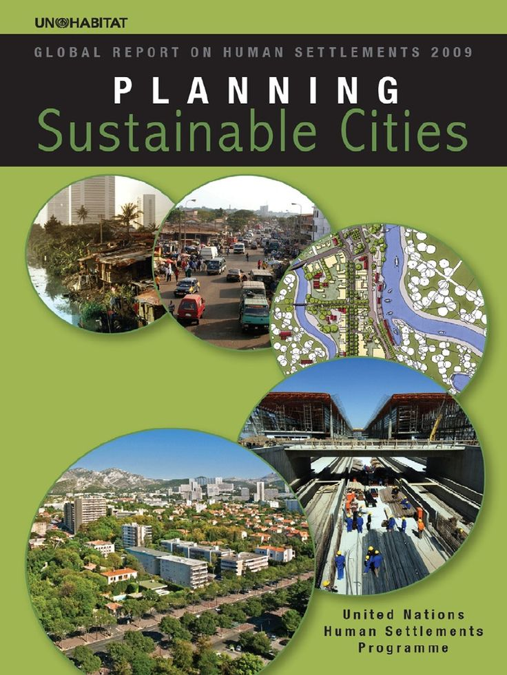 planning sustainable cities.pdf | Governance | Infrastructure