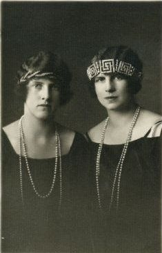 Princess Irene and Princess Helen of Greece and Denmark
