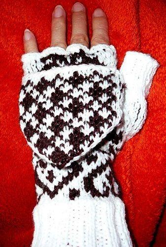 rukavice s poklopem