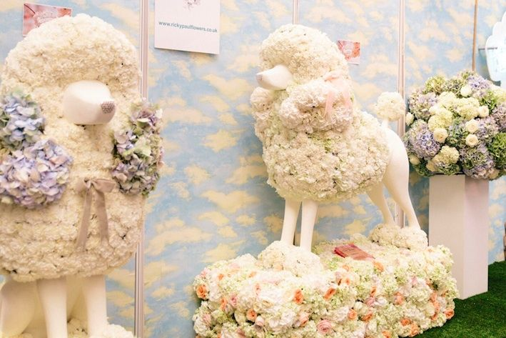 Fabulous Wedding ideas ricky paul flowers floral poodle sculptures