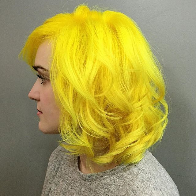 Best 25+ Yellow hair ideas on Pinterest | Yellow hair dye ...
