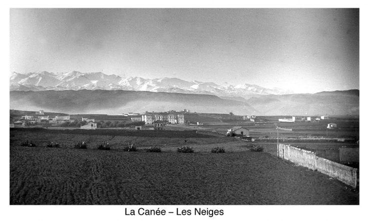Χανιά. Τα Λευκά Όρη. 1900 περίπου. Φωτογραφικό Αρχείο του συνταγματάρχη Émile Honoré Destelle. Δημοσίευση Ελένης Σημαντήρη.