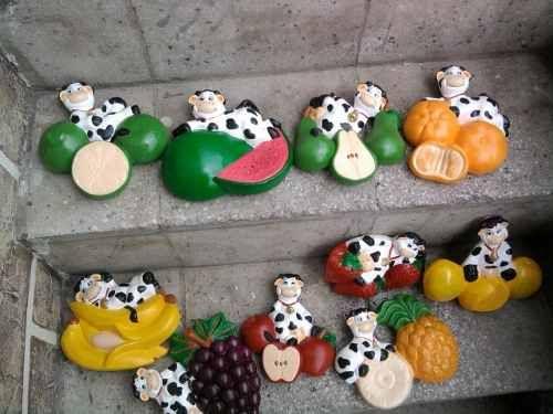 Paso a paso manualidades de ojos de vacas en ceramica for Vacas decorativas para jardin
