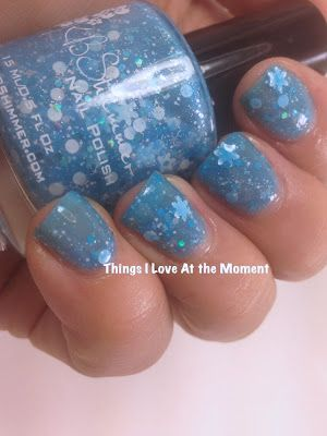 KB Shimmer 2013 Winter Collection- Snow Much Fun nails