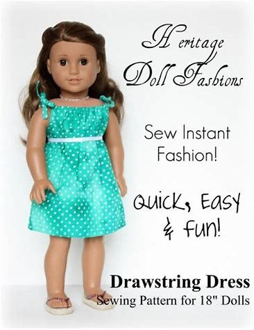 Image result for Free Printable 18 Inch Doll Clothes Patterns   Doll ...