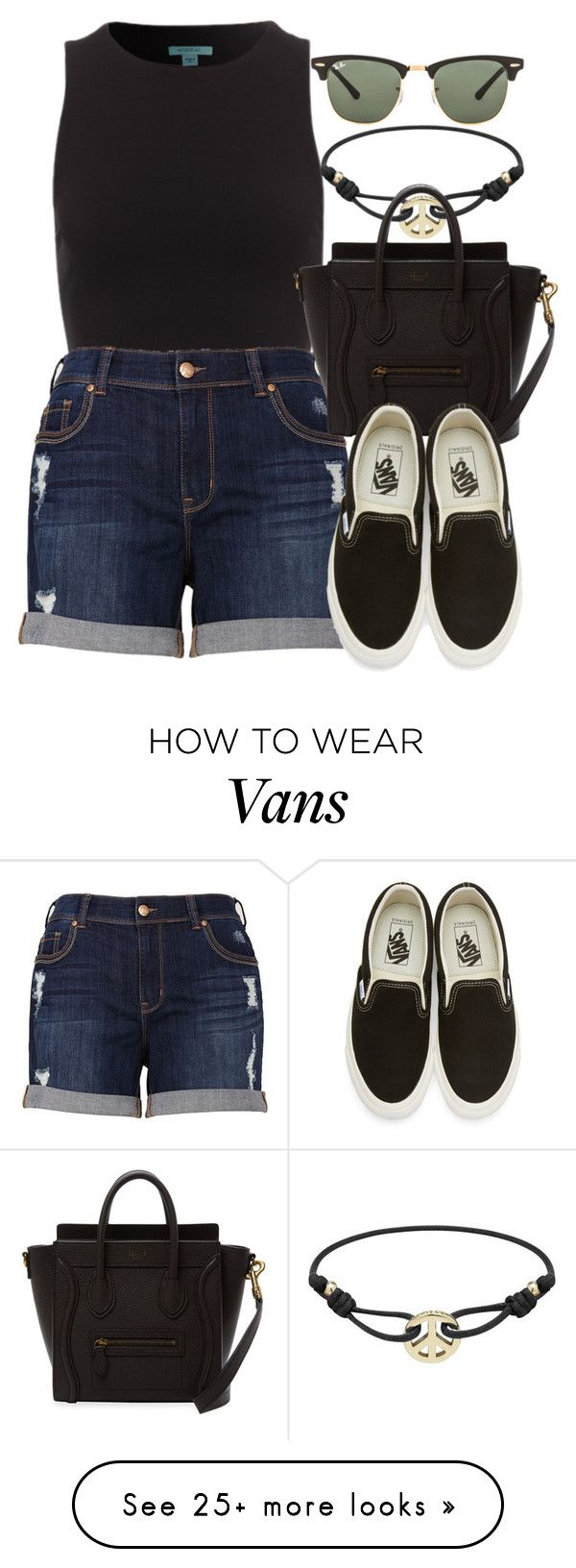 """Sin título #12848"" by vany-alvarado on Polyvore featuring Mulberry, Melissa McCarthy Seven7, Vans and Ray-Ban"