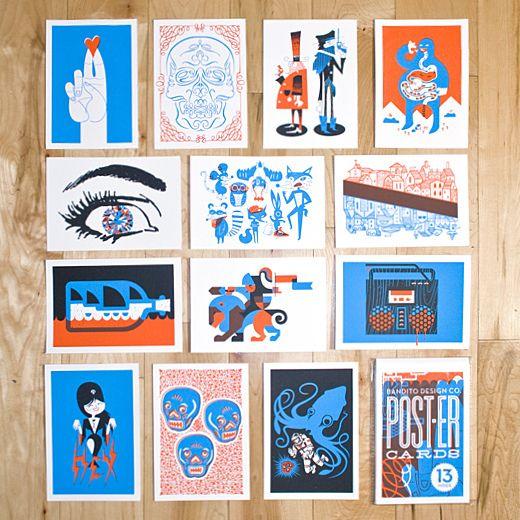 Bandito Poster Cards