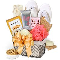 Bath Snack Gift Basket