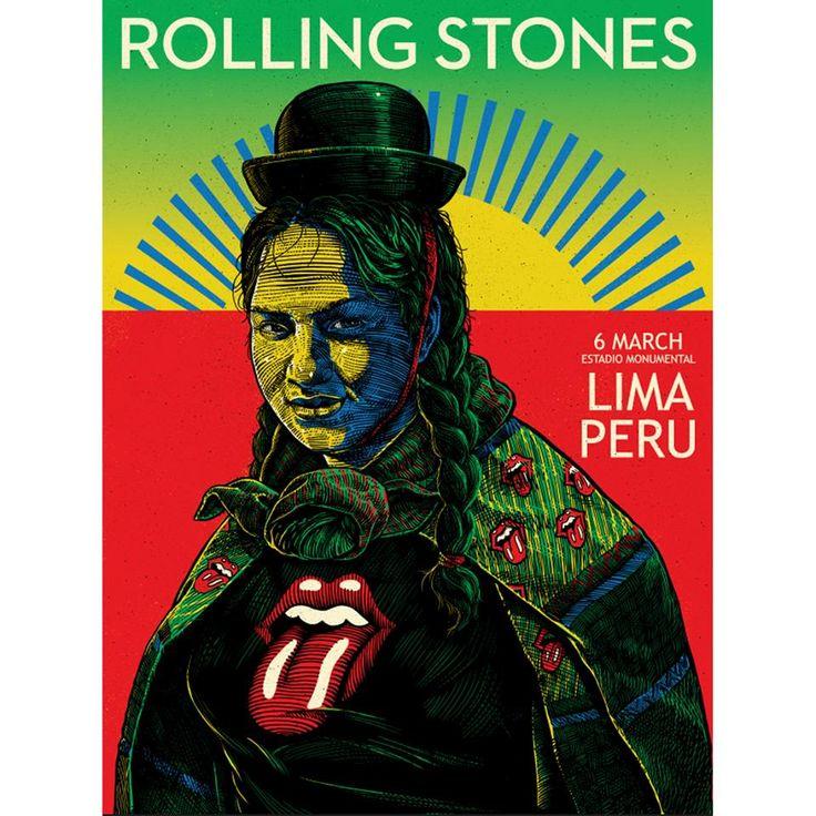 Rolling Stones en Lima: banda elimina afiche con motivos peruanos que publicó en Facebook | Noticias del Perú | LaRepublica.pe