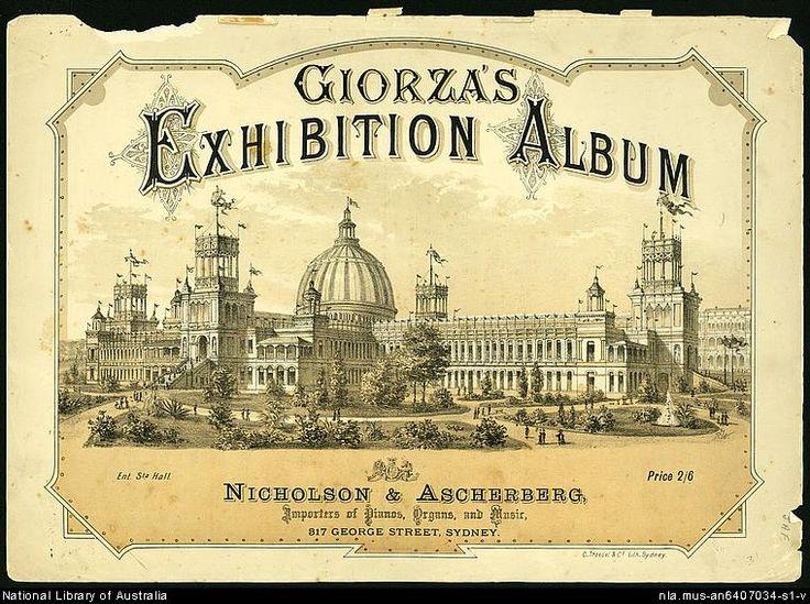 Giorza's Exhibition album [music].                      1879