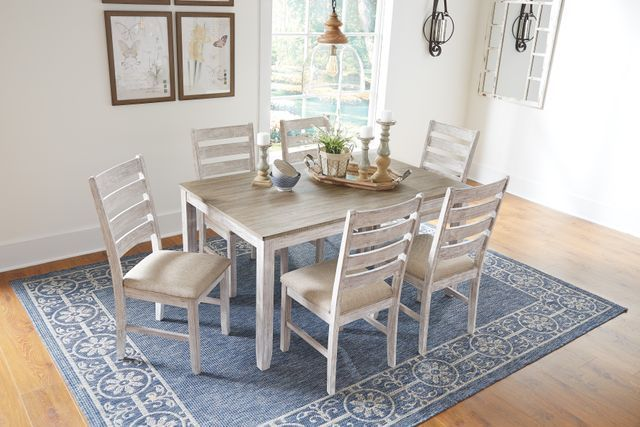 Signature Design By Ashley Skempton 7 Pc Dining Room Table Set