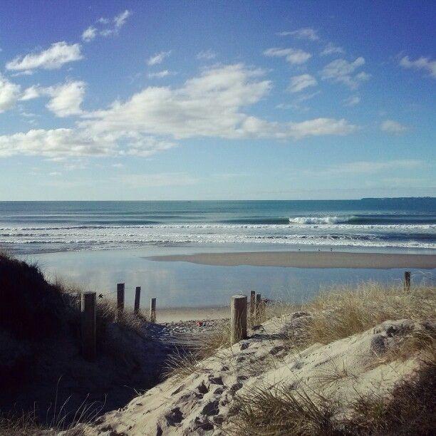 Papamoa beach, New Zealand