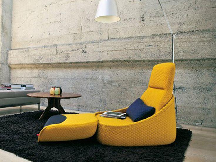 Poltrona o chaise longue? Entrambe! #poltrona #chaiselongue #poltronarelax