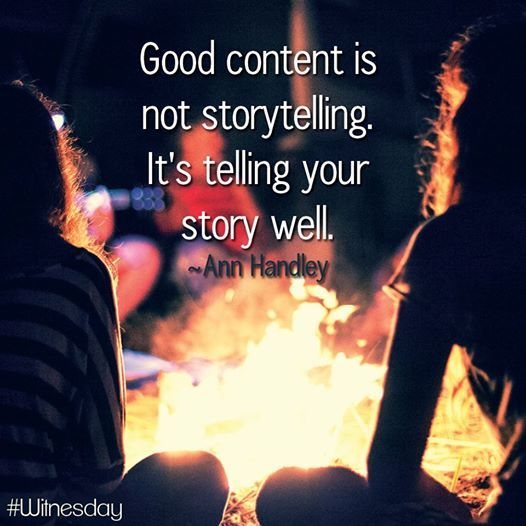 A brand is born out of a legend and a legend is just a #story. #contentmarketing #marketing #startup #startupevents #India #onlinebusiness #marketingtips #eTail #onlineretail #WednesdayWisdom #Witnesday