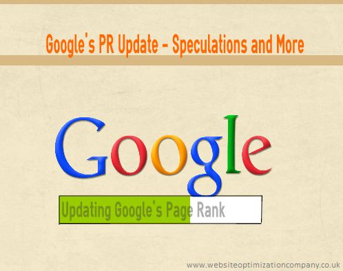 Did you notice your #Google #PR #Ranking increase, we recently had an update