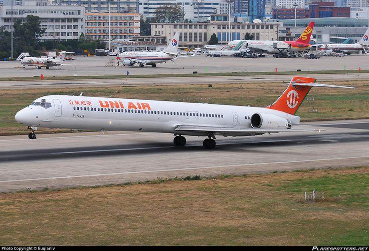 UNI AIR, McDonnell Douglas MD-90-30, Kunming - Wujiaba (closed) (KMG / ZPPP) China, 06 May 2012 by liuqianlv