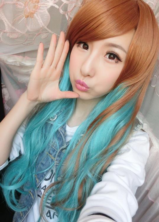 $23.79 (Buy here: https://alitems.com/g/1e8d114494ebda23ff8b16525dc3e8/?i=5&ulp=https%3A%2F%2Fwww.aliexpress.com%2Fitem%2FYiwu-long-oblique-bangs-wig-color-gradient-cos-Harajuku-cartoon-fashion-hair-cover-spot%2F32489464366.html ) Yiwu long oblique bangs wig color gradient cos Harajuku cartoon fashion hair cover spot for just $23.79