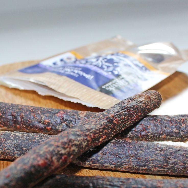 Green & Wild's grain-free venison deli sticks. Delicious natural dog snacks made from lean, healthy British venison.