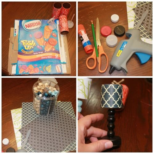 How to Make a Lamp for Your Dolls - DollObservers.com