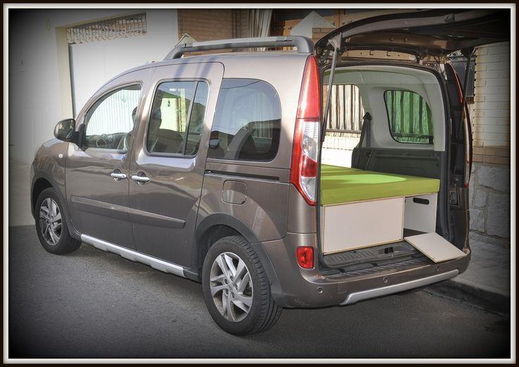 Fabricación de muebles camper para furgos y minifurgos tipo Renault kangoo, Citroen Berlingo, Peugeot Partner, Dacia Dokker, Fiar Doblo.