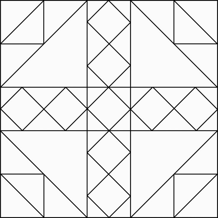 Coloring Pages Quilt Blocks Book Activities For Kids