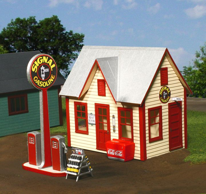 50 Best Craftsman Structures Gas Stations Images On