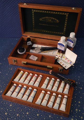 Winsor Amp Newton Artists Watercolor Westminster Box Set
