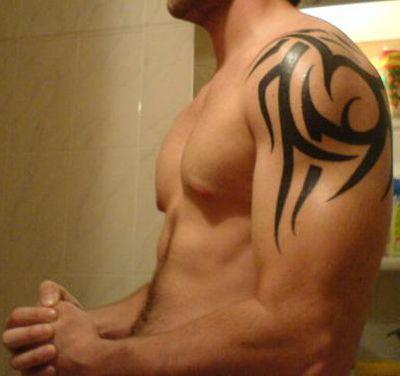 Google Image Result for http://pinkfashionz.com/wp-content/uploads/2012/06/tribal-shoulder-tattoos-for-men.jpg