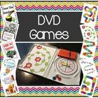 Have DVD cases lying around? Turn them into portable games!     Packet includes  - Five Game covers that fit into plastic DVD sleeves  - Matching gameb...