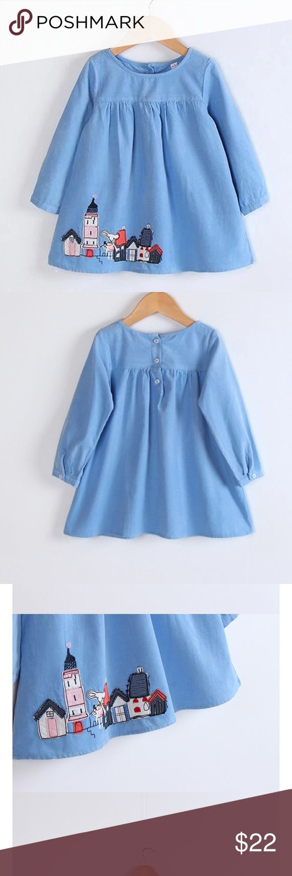 Baby blue dress ✨ Adorable blue dress, looks great with white tights and Mary Janes. Dresses Casual