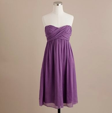 Flowy bridesmaid's dress. Is this lilac or wisteria?