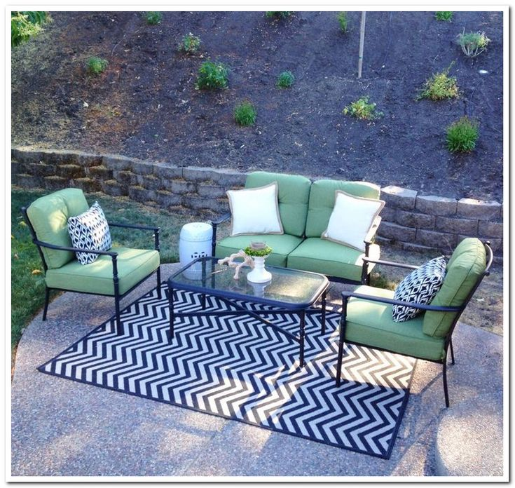 Image of: Lowes Outdoor Rugs Design
