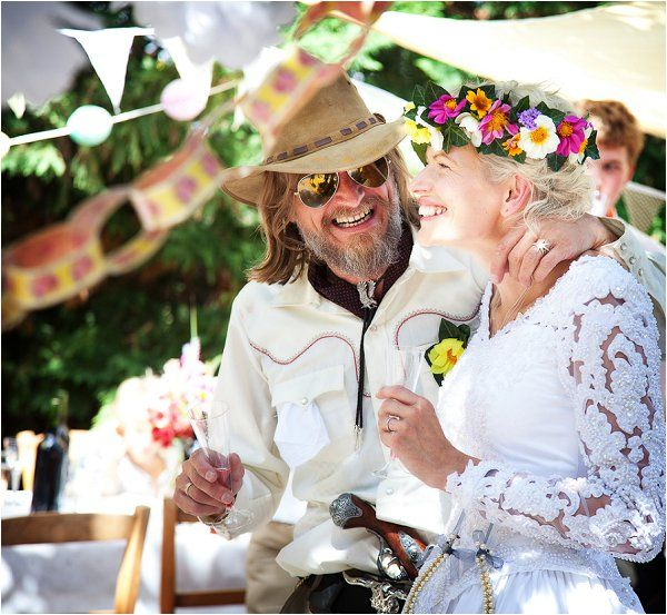 quirky wedding | Image by Lydia Taylor-Jones, read more http://www.frenchweddingstyle.com/80s-inspired-wedding-france/