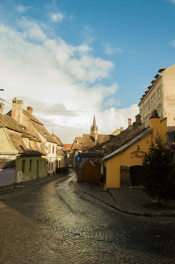 Landscape in Sibiu.