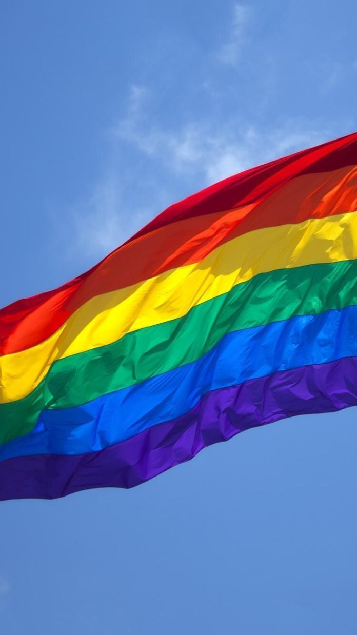 Pin by kamaria j  clark on aesthetic/wallpapers | Lgbt flag
