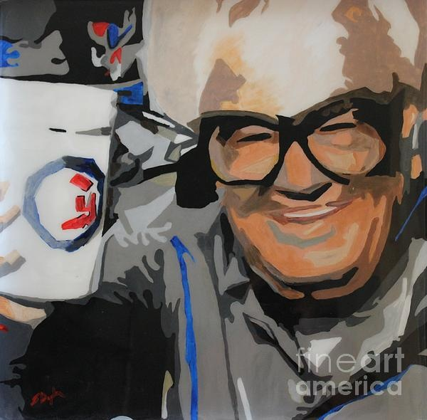 harry carey painting for all chicago sports enthusiasts...