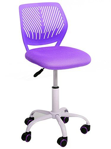 Mid-back Modern Swivel Student Chair for Girls Home Office Computer Study (Purple)  //Price: $ & FREE Shipping //     #home