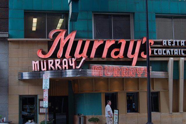 In every city there is one great restaurant that reflects its history and character. In Minneapolis, it's Murray's. Using only the finest aged beef, our famed Silver Butter Knife Steak for two has become a tradition for locals and guests to the city. #OnlyinMN
