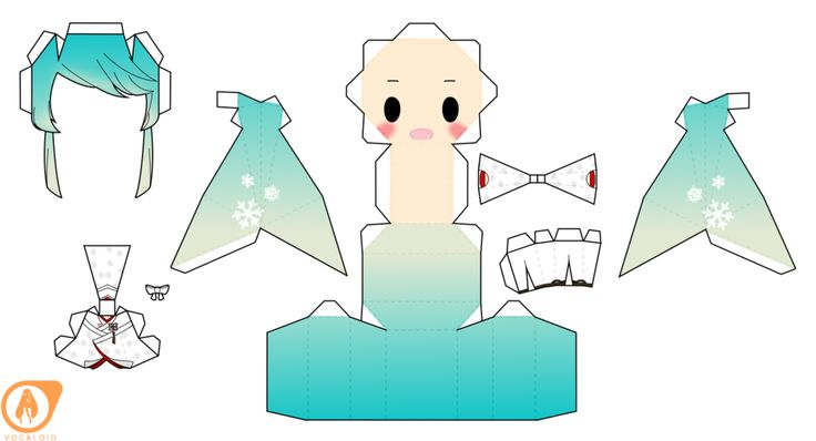 2013 Snow Miku Hatsune by PiercePapercraft.deviantart.com on @DeviantArt