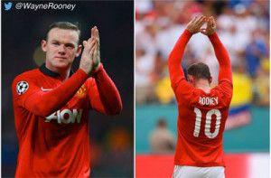 Wayne Rooney sortea su camiseta del Manchester United con el número 10.  http://www.planfutbolero.com/wayne-rooney-sorteo-twitter-camiseta-manchester-united-10/