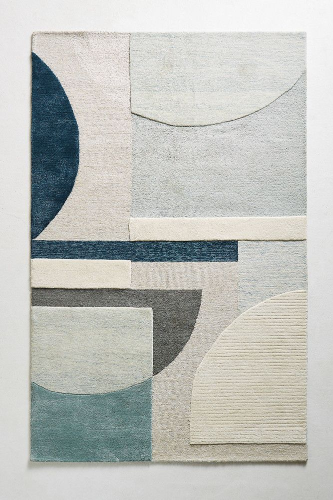 Abstract Geometry Rug In 2019 Art Deco Rugs Rug Texture