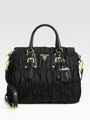 Black Prada Tessuto Gaufre Ruched Tote Bag ohmygod I want this so badDreams Handbags, Prada Bags Tessuto, Totes Bags, Gaufre Totes, Bags Aa, Handbags Heavens, Tessuto Gaufre, Prada Tessuto, Tote Bags