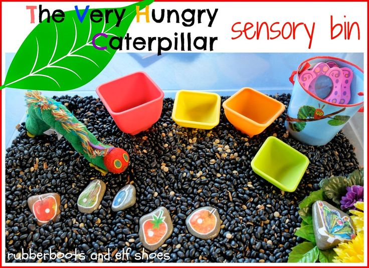 Capri + 3: Artsy Play Wednesday-Hungry Caterpillar