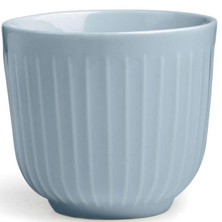 Kähler hammershøi kopp lys blå