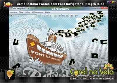 Como Instalar Fontes com Font Navigator e Integrá-lo ao CorelDraw X6?:   O que é o Bitstream Font Navigator? Aprenda a desinstalar fontes, apenas arrastando e soltando-as de um lado para outro.
