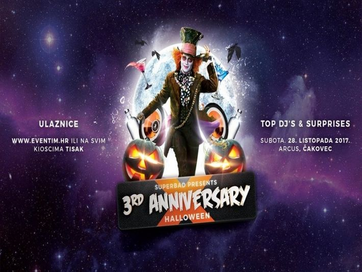 Superbad: 3rd Anniversary / Halloween