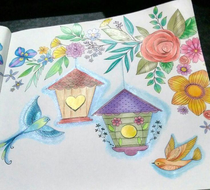 Bold Springtime To Color De Eleri Fowler