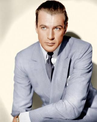 Gary Cooper. The man was beautiful.