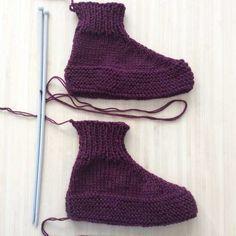 chaussons pliés