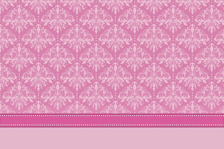 Damascos Rosa: Invitaciones para Imprimir Gratis. | Ideas y material gratis para fiestas y celebraciones Oh My Fiesta!